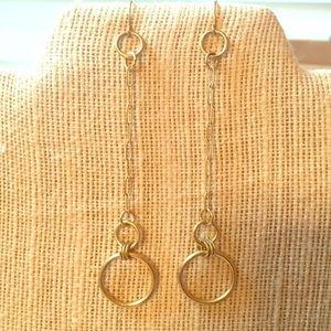 Simple Vintage Minimalist Dangle Earrings